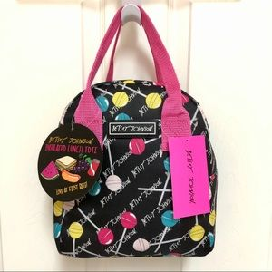 🍭 Betsey Johnson Insulated Lunch Tote Lollipop